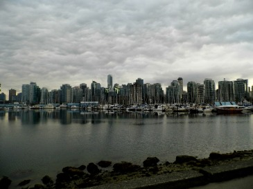 Chove muito em Vancouver